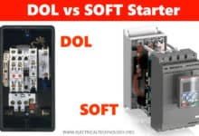 Differences between DOL and Soft Starter