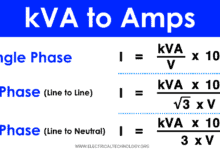 kVA to Amps Calculator - How to Convert kVA to Amps