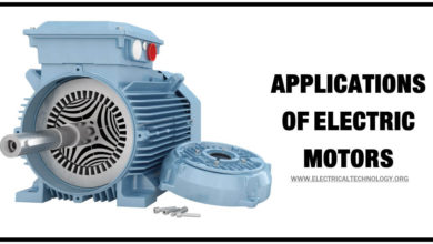 Applications of Electric Motors