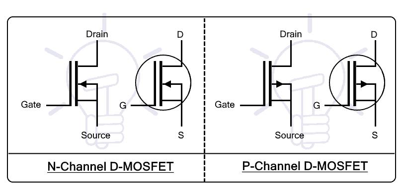 Depletion MOSFET Symbol