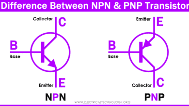 Difference Between NPN & PNP Transistor
