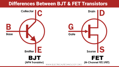 Difference between BJT and FET Transistors