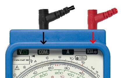 Analog Multimeter AC Current Measurement Socket