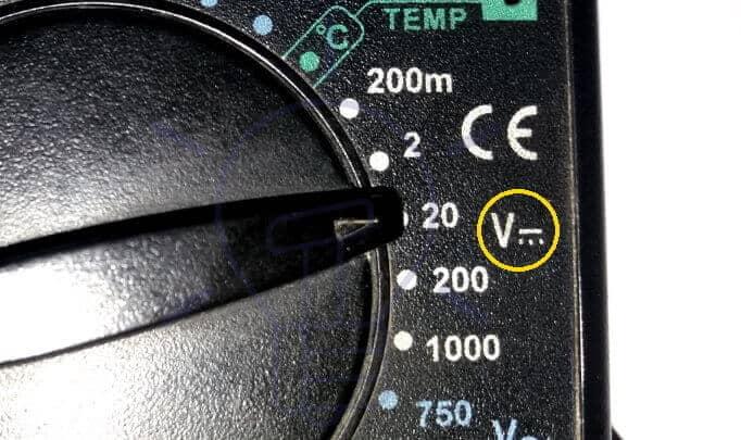 DMM DC Voltage Measurement Mode Selection
