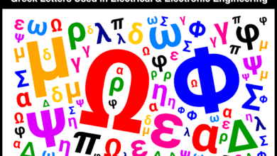Greek Alphabets, Letters, Symbols & Characters Used in Electrical & Electronic Engineering