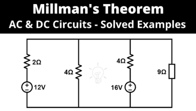 Millman's Theorem - Analyzing AC & DC Circuits - Solved Examples