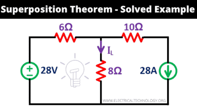 Superposition Theorem - Step by Step Procedure with Solved Examples