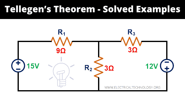 Tellegen's Theorem - Step by Step Guide with Solved Examples & MATLAB Simulation