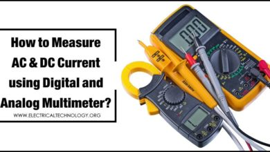 How to Measure Current using Digital and Analog Multimeter?