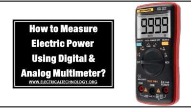 How to Measure Power using Digital and Analog Multimeter?
