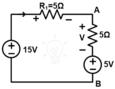 Solving Electric Circuit by Substitution Theorem