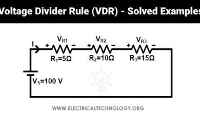 What is Voltage Divider Rule - Voltage Division