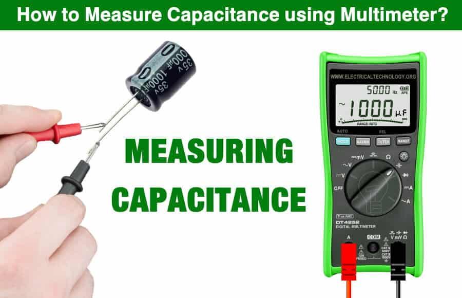 How to Measure Capacitance using Multimeter