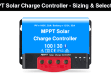 MPPT Solar Charge Controller - Working, Sizing and Selection