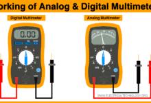What is Multimeter - Working of Analog and Digital Multimeters