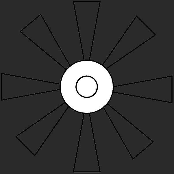 Fig. 2 - Multiblade Wind Turbine