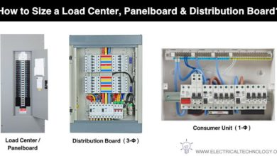 How to Size a Load Center, Panelboard, Distribution Board & Consumer Unit - NEC & IEC