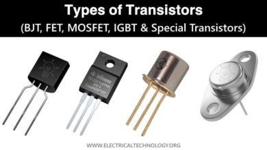 Types of Transistors