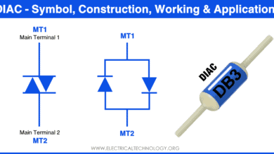 What is DIAC? Symbol, Construction, Working and Applications