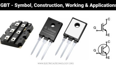What is IGBT - Symbol, Construction, Working and Applications