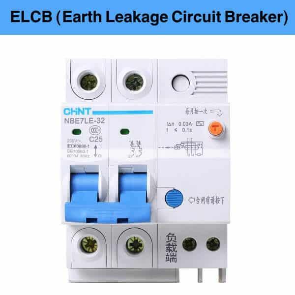 What is ELCB (Earth Leakage Circuit Breaker) ?