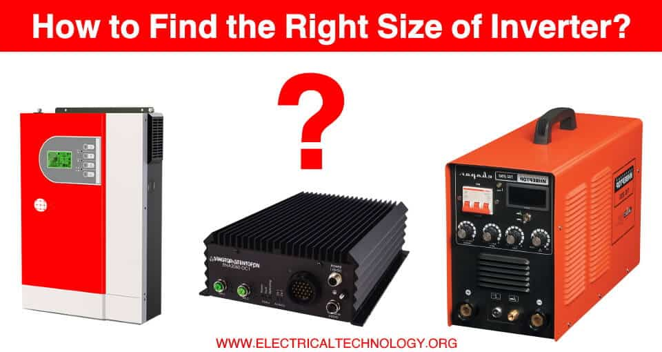 How to Determine the Suitable Size of Inverter for Home Appliances
