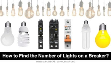 How to Find the Number of Lights on a Single Circuit Breaker