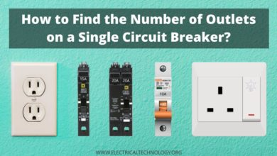 How to Find the Number of Outlets on a Single Circuit Breaker