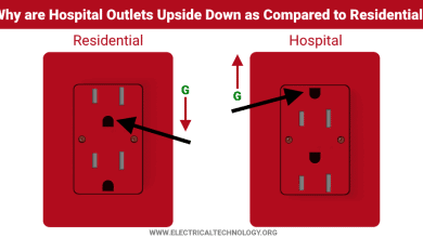 Why are Outlets and Receptacles in Hospitals Upside Down